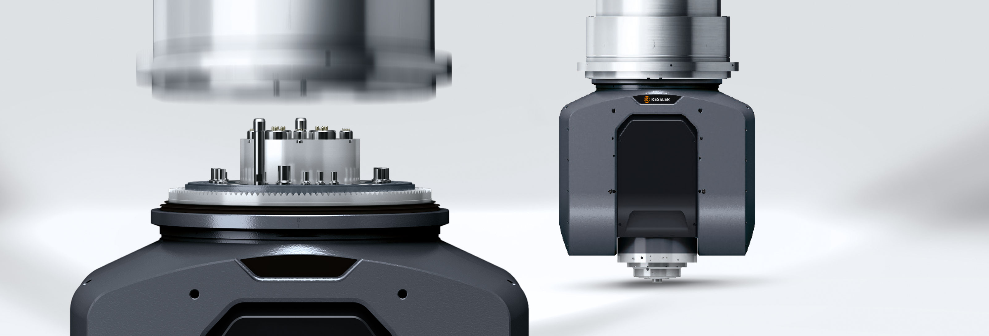 KESSLER 2-axis heads - Experts for simultaneous machining