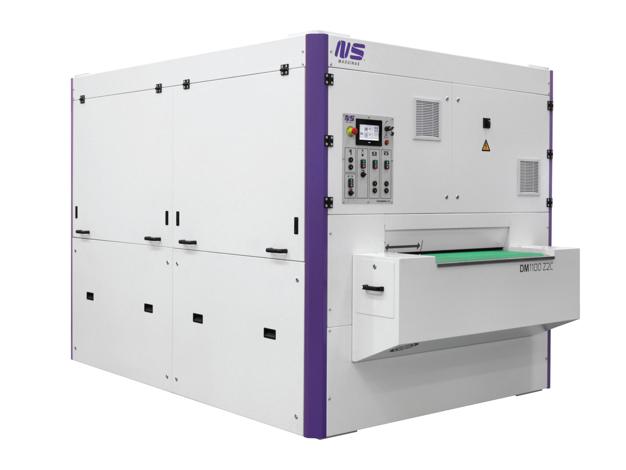 DM1100 Z2C - Deburring and Double Side Edge Rounding Machine