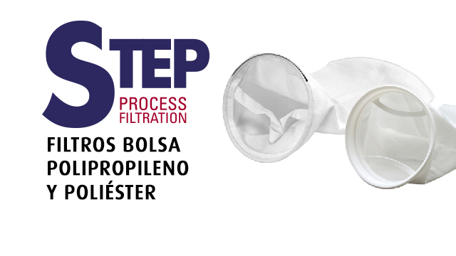 STEP PROCESS FILTRATION- FILTROS DE BOLSA MATERIALES PP / PE