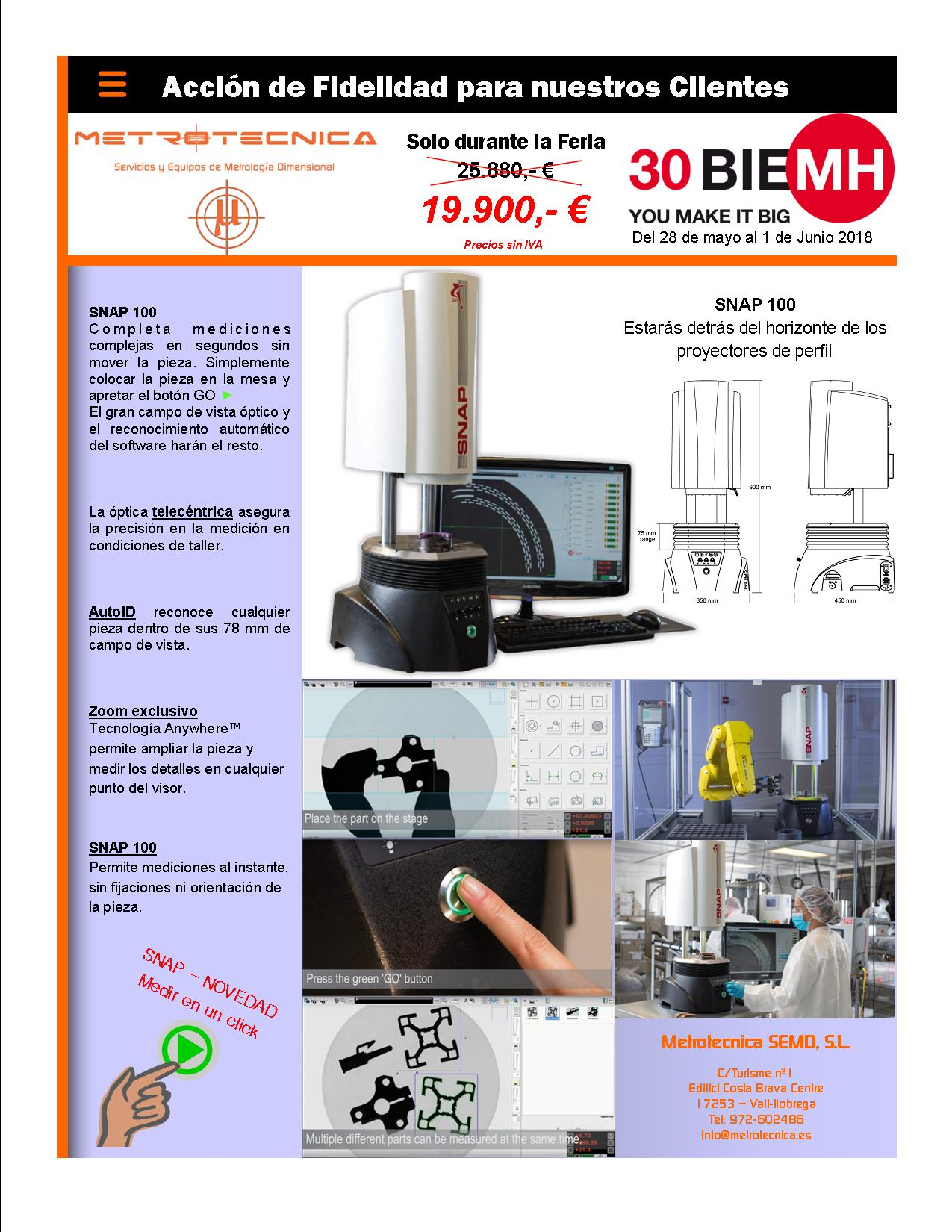 Oferta - Proyector diginal - Snap 100