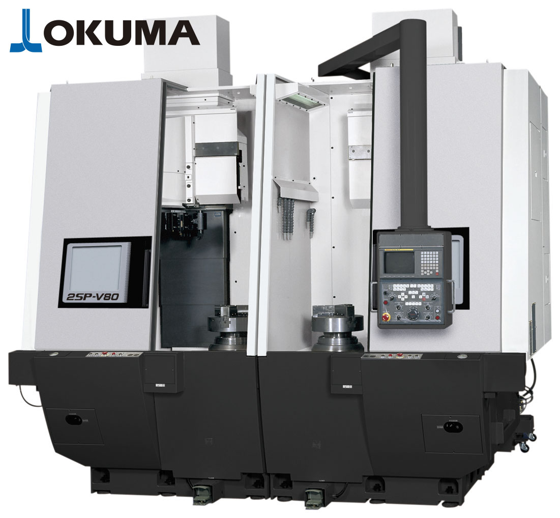 Torno vertical OKUMA 2SP-V80