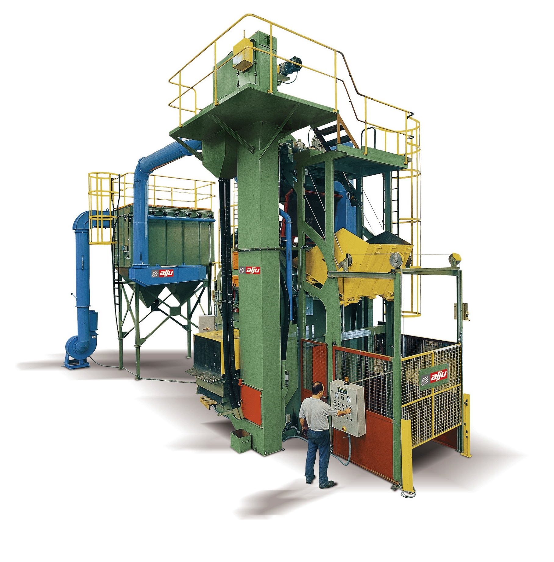 TUMBLING SHOT BLASTING MACHINE 'ALJUTROM'