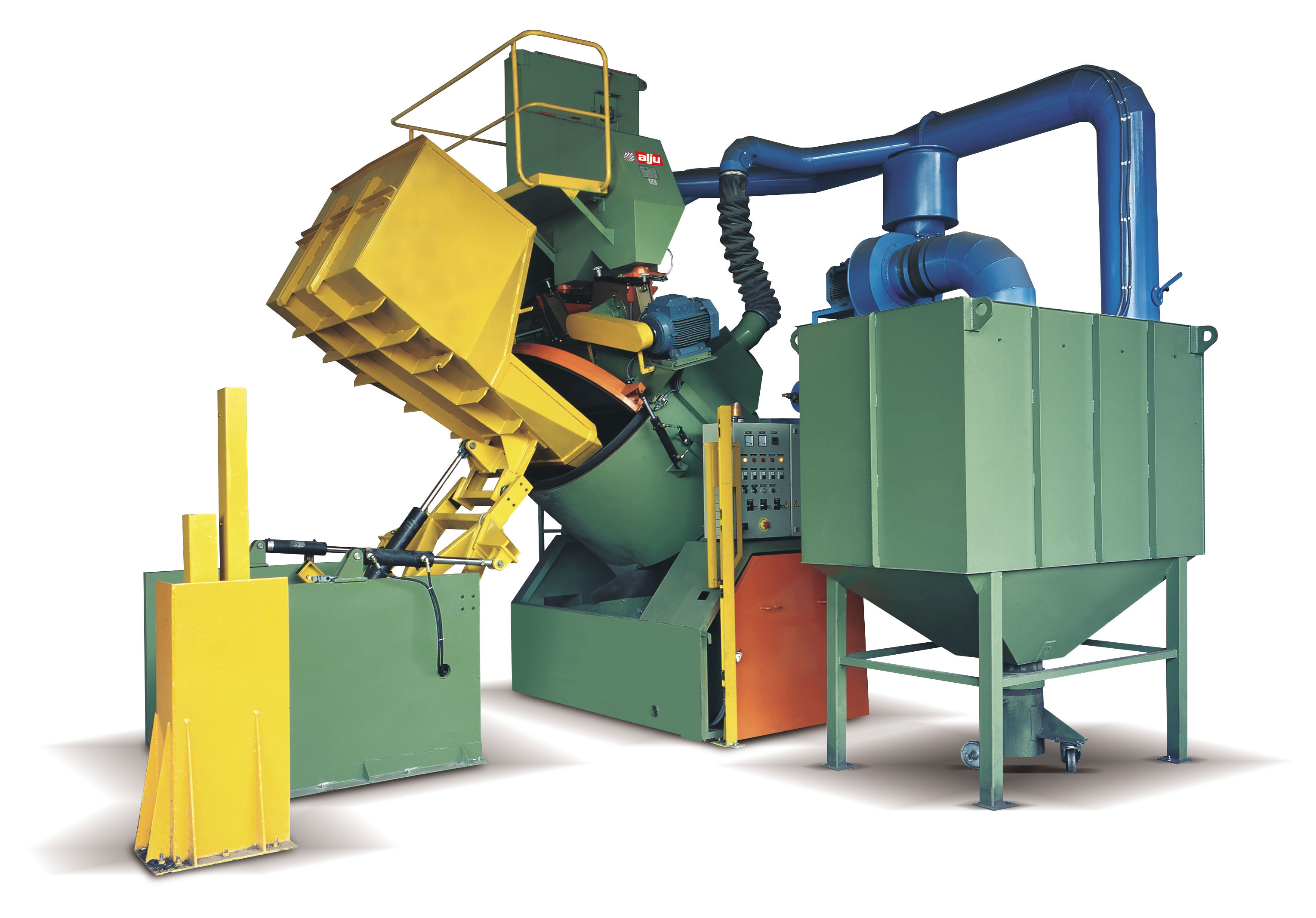 TUMBLING SHOT BLASTING MACHINE 'TAMBRO'