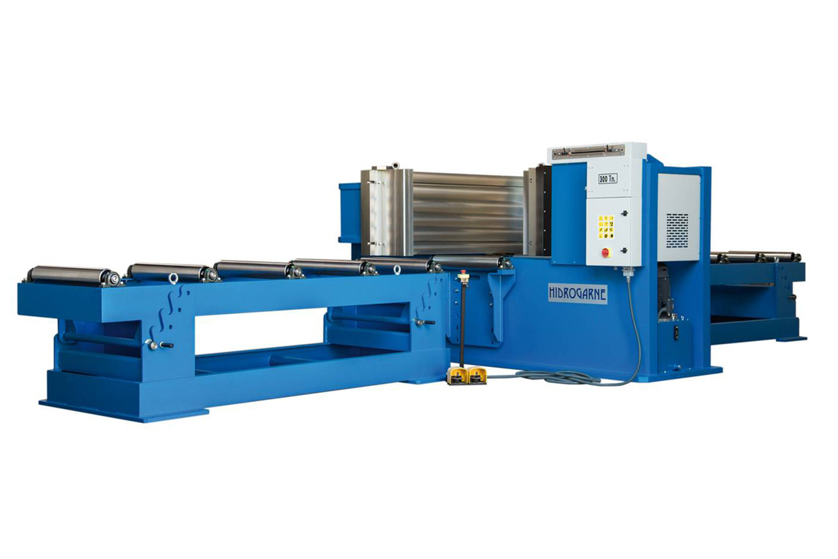 Cambering press (Straightening horizontal press), HV series
