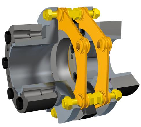 BACKLASH - FREE SHAFT COUPLINGS