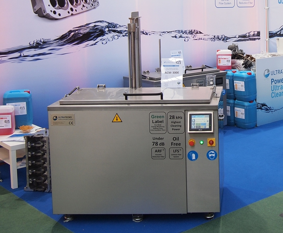 Ultrasonic cleaning equipment from 100l to 11.200l