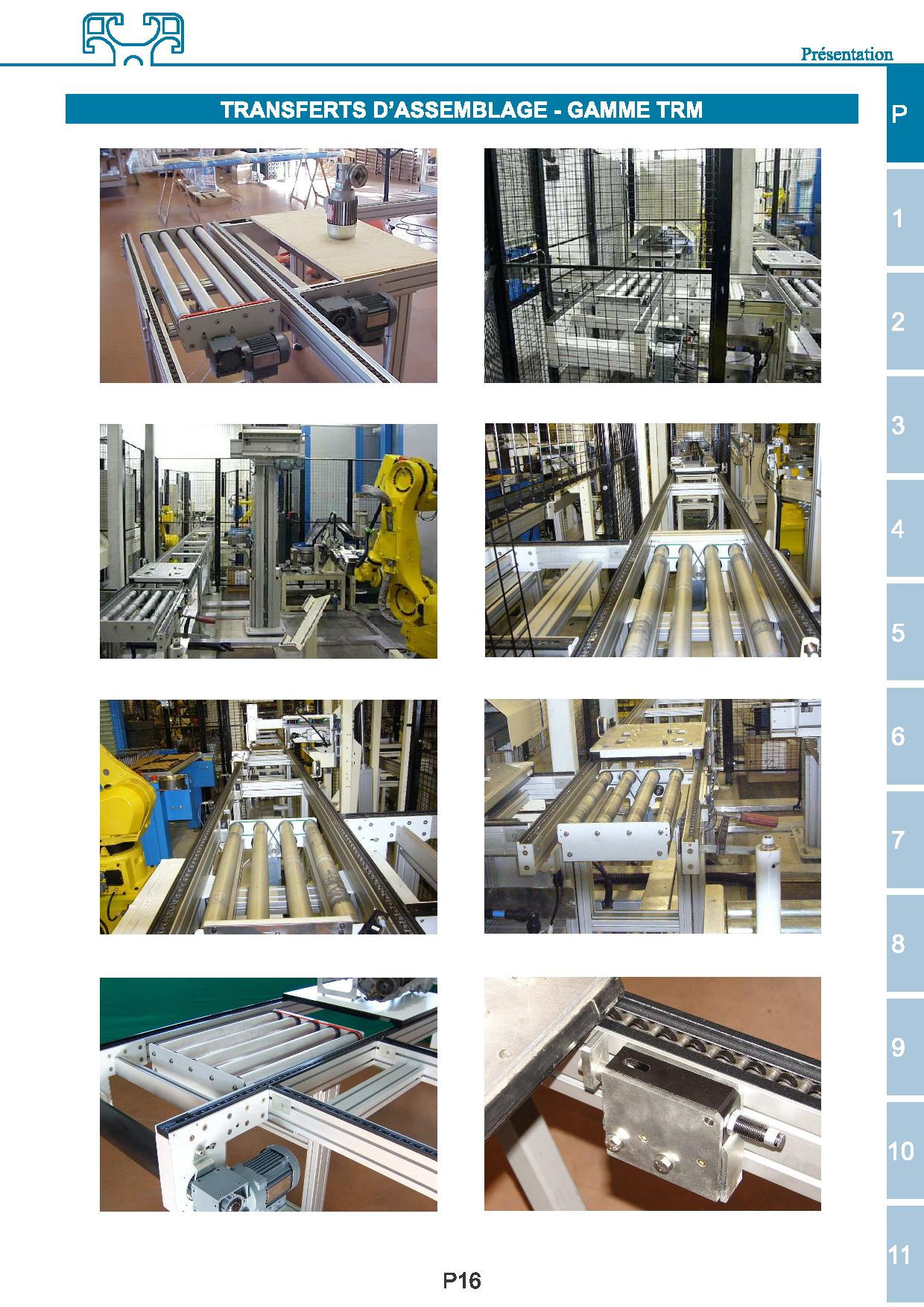 assembly line TRM range / up to 100kg