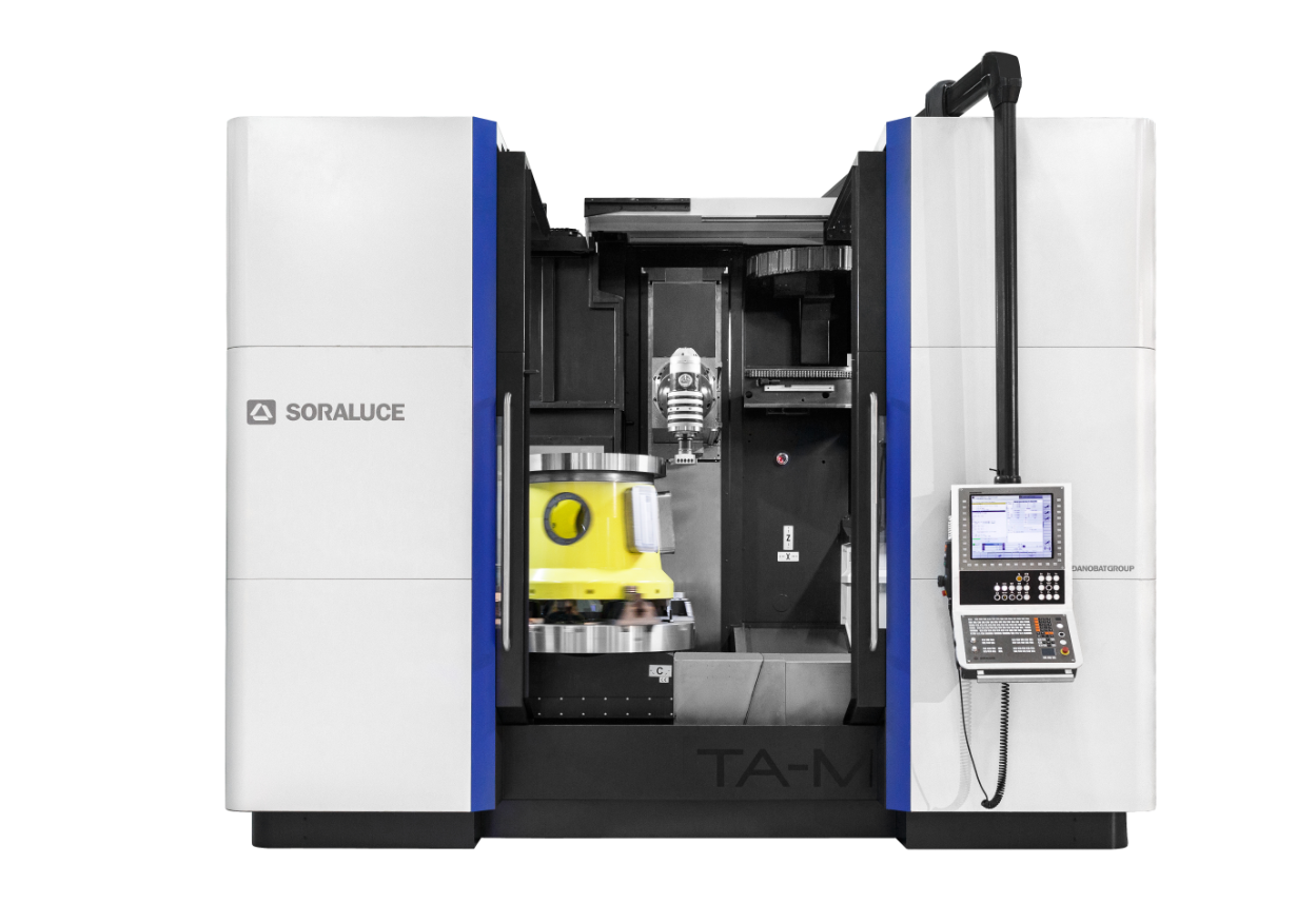 New SORALUCE TA-M,  high performance capacity in milling, turning and grinding in a single machine