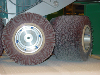 LOCK-IT Spindle with Ø400 mm abrasive tool
