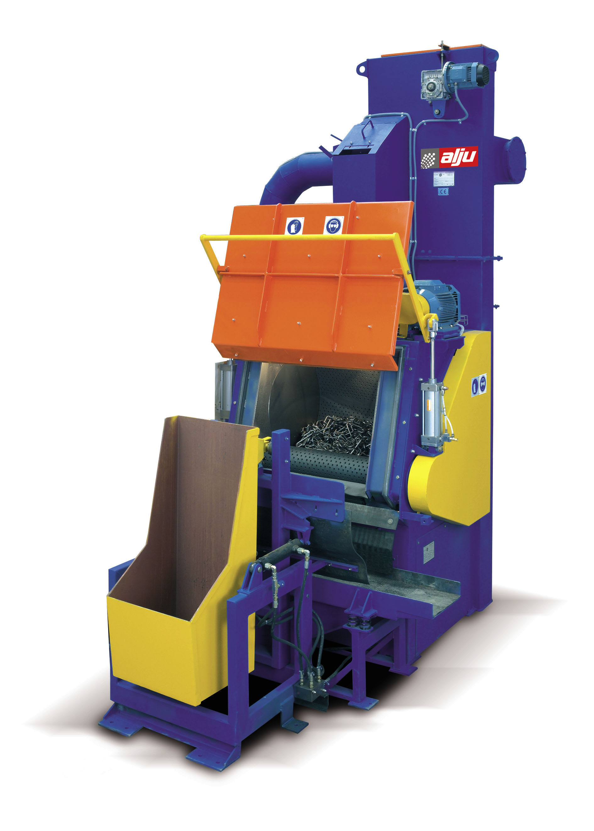 TUMBLING SHOT BLASTING MACHINE MODEL ALJUBAN