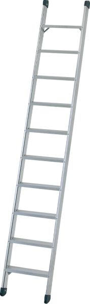 Escalera de pared con peldaños