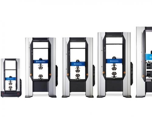Nueva máquina universal de ensayos electromecánica modelo AGX-V de Shimadzu