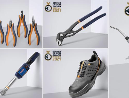 Premio Alemán de Diseño 2021: Una vez más 5 productos GARANT ganan este reconocimiento
